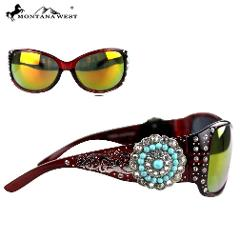 SGS-3204 Montana West Concho Collection Sunglasses, Great Buy ...