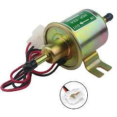 W8sunjs Universal 12V Heavy Duty Electric Fuel Pump Metal Soli...