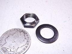 83 HONDA FT500 FT 500 ASCOT CLUTCH MOUNTING NUT & SPRING WASHERS