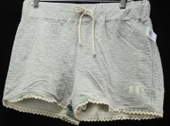 Disney Parks L Minnie Mouse Gray And Ivory Polka Dot Shorts