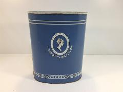 Vintage Harvell Waste Basket Royalty Princess