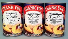 Thank You Ultimate Vanilla Pudding 15.75 oz (3 Cans)