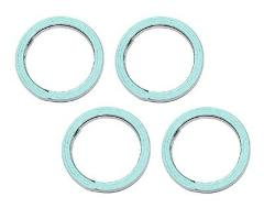 Set Of 4 Honda New K&L Exhaust Pipe Muffler Header Gasket Seal...