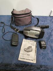 Panasonic Model No PV-L452D Palmcorder Camcorder VHS-C 750x Di...