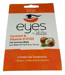 Coconut & Vitamin D Eyes ToGoSpa Anti-Aging Collagen 3 Under ...