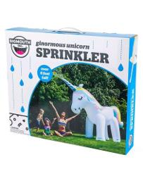 New Huge 6 Foot Inflatable Unicorn Lawn Yard Toy Water Sprinkl...