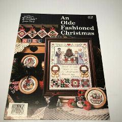 An Olde Fashioned Christmas Cross Stitch Pattern Sampler & 3 O...