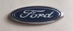 Ford 75mm Oval Logo Badge Emblem for Exterior Interior Dashboa...