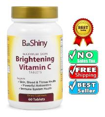 Brightening Vitamin C 1000mg Tablets w/ Rose Hips Skin Blood &...