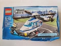 LEGO City Police Helicopter - Set 7741 - 94 Pieces - Ages 5-12...