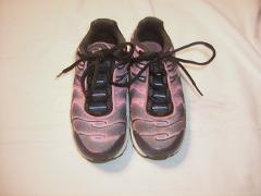 Nike Air Max Plus Youth Size 11C Obsidian Pink Athletic Traini...