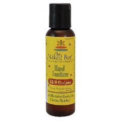 Naked Bee Hand Sanitizer Bottle 2 oz Orange Blossom Honey Tra...