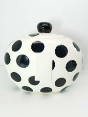 Coton Colors Happy Everything Large Cookie Jar POLKA DOT