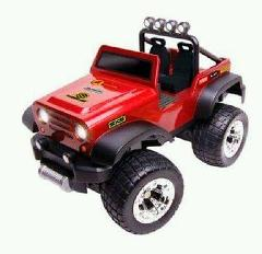 Jeep full radio control Off Road Safari Red Car lights by Blue...