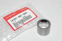 93-05 TRX90 FOURTRAX 90 2x4 NEW OEM HONDA MUFFLER CONNECTOR GA...