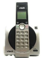 VTech Cordless Phone System Silver w/ Caller ID Call Waiting D...