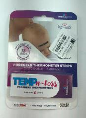 Temp-N-Toss Disposable Forehead Thermometer Strips 6 strips