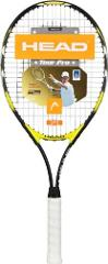 HEAD Titanium Tour Pro Strung Tennis Racquet (4 1/2)