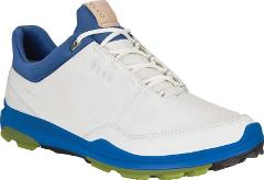 ECCO BIOM Hybrid 3 Tie GORE-TEX Golf Shoes - Men's - White/Kiw...