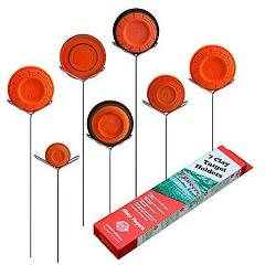 Clay Pigeon Target Holders Pack of 7 - Will Fit Any Clay Targe...
