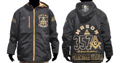 Prince Hall Fraternity Mason Masonic Jacket F&AM Windbreaker...