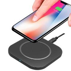Wireless Fast Charging Pad for iPhone X - 8+ Galaxy S9 - 7+ Ed...