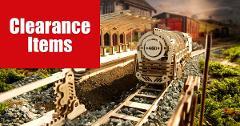 460 Locomotive - UGEARS 3D mechanical wooden model