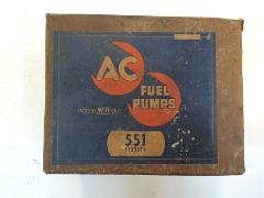Vintage AC Fuel Pump 551 24917 Made in USA