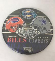 1993 Dallas Cowboys vs Buffalo Bills Super Bowl XXVII Hat Pin ...