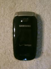 Samsung U430 Phone, Black (Verizon Wireless)