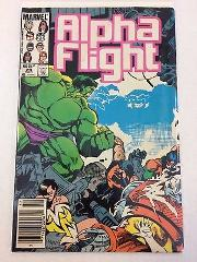 Alpha Flight #29 Comic Book Marvel 1985