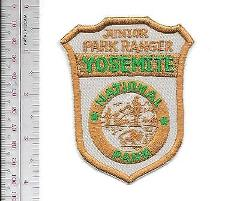 National Park NPS California Junior Park Ranger Yosemite Natio...