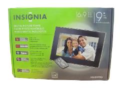 Insignia NS-DPF9G - 9 Inch Digital Picture Frame 2GB Internal ...