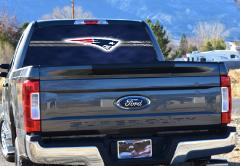New England, Patriots, Rear Window Graphics, We Can Make Custo...