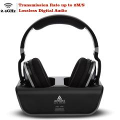 Wireless TV Headphones, Artiste ADH300 2.4GHz Digital Over-Ear...