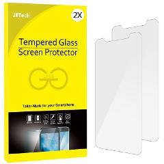 JETech Apple iPhone 6 7 8 X Tempered Glass Screen Protectors &...