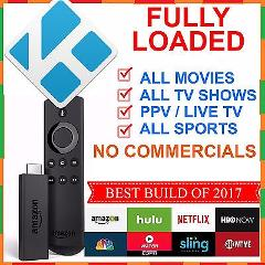 FULLY LOADED AMAZON FIRE TV STICK, Cable TV, MOVIES,PPV,Adult ...