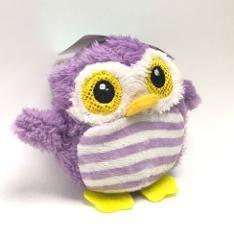 Owl Plush Stuffed Animal Purple Toy 4 inch New