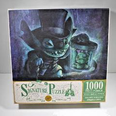 Disney Parks Puzzle Haunted Mansion 50th Anniversary Stitch as...