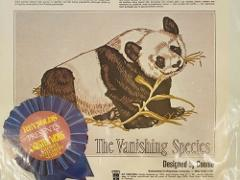 NIP Giant Panda Crewel Kit The Vanishing Species By Connie 1974