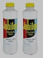 *2* 15 oz JUBILEE Kitchen Wax CLEANER Protects Shines Multi Ro...