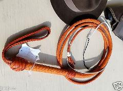 14 Foot 12 Plait Raider Whip SameAs INDIANA JONES Leather BULL...