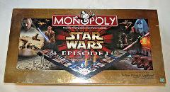 Monopoly Star Wars Episode I Collectors Edition 3-D Game Board...
