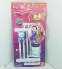 My Life As Horse Jumping Accessories Play Set for 18