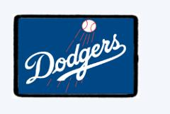 Dodgers, Morale Patch, Hook and Loop, Tactical Morale Patch, M...