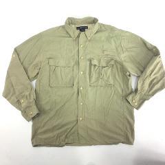 EX OFFICIO Air Strip Vented Fishing Shirt L Large NWOT
