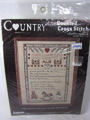 Janlynn Counted Cross Stitch Kit COUNTRY SAMPLER 11