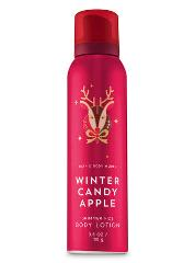 Bath & Body Works Winter Candy Apple Shimmer Fizz Body Lotion ...