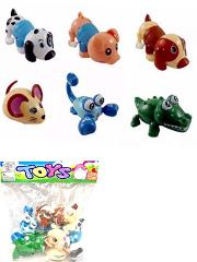 Wind Up Toy Animals for Kids Includes Pig Mouse Dog Scorpion C...