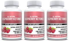 Raspberry Ketones Extract Keto Weight Loss 3X Bottles